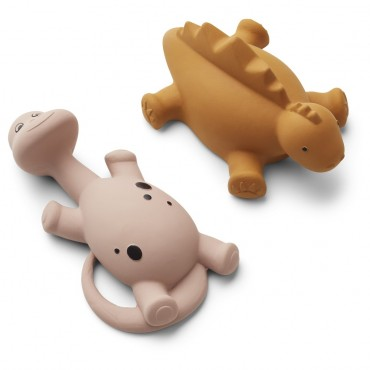 Set de 2 jouets de bain Algi - Rose
