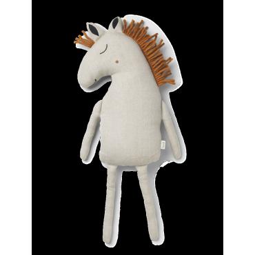 Coussin Safari - Horse (naturel)
