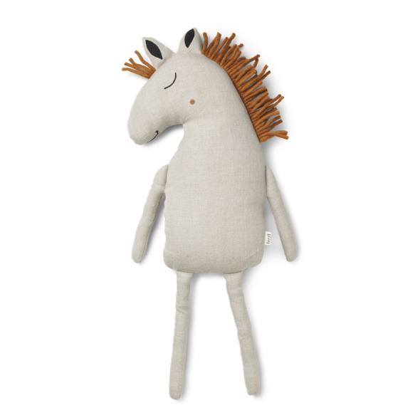 Coussin Safari - Horse (naturel)