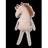Coussin Safari - Horse (dusty rose)