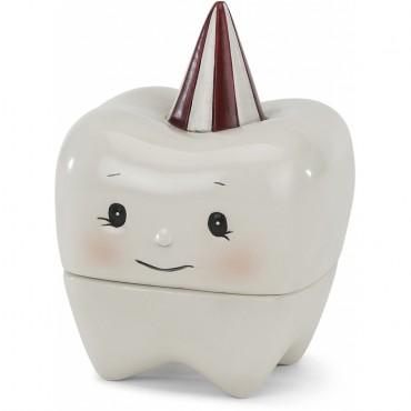 Boite à dent en porcelaine