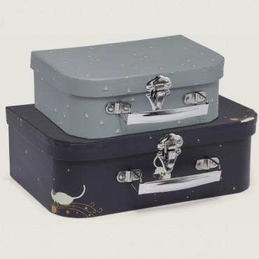 Set de 2 valises Siamois / Mille marin