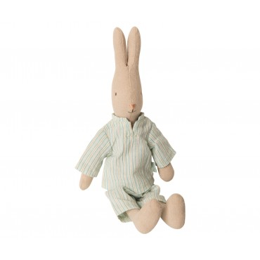 Poupée Lapin Garçon en pyjama (Taille 1)