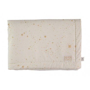Couverture Laponia - Gold stella / Natural