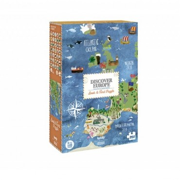 Puzzle Discover Europe (200 pièces)