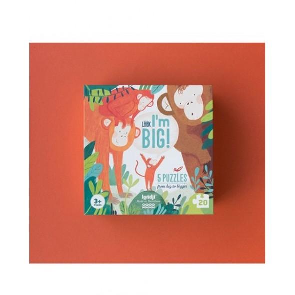 Look ! I'm big puzzle (20 pièces)