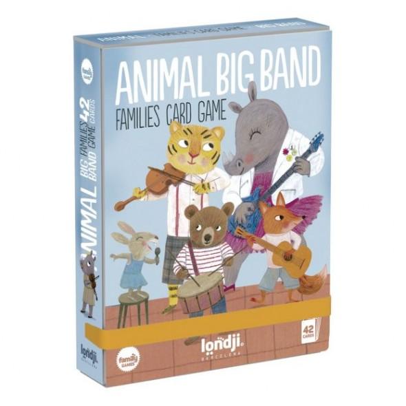 Jeu des 7 familles - Animal Big Band