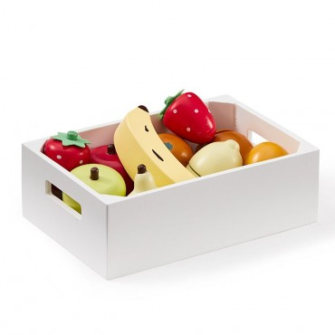 Cagette de fruits en bois