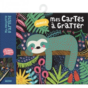 Mes cartes à gratter - Jungle