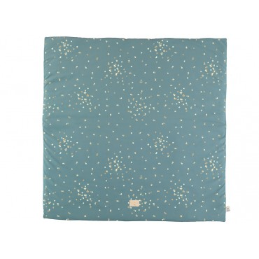 Tapis de jeu Colorado - Gold confetti / Magic green