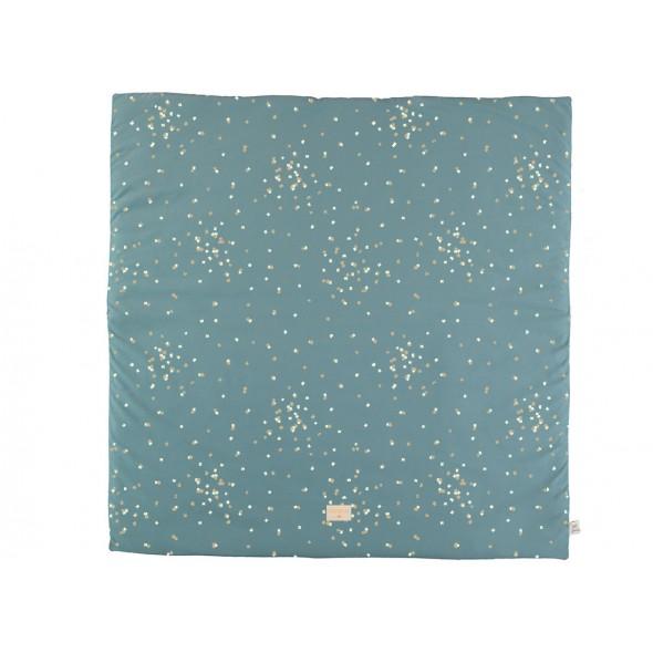 Tapis de jeu Colorado - Gold confetti / Magic green