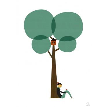 Affiche Under The Tree - Lui