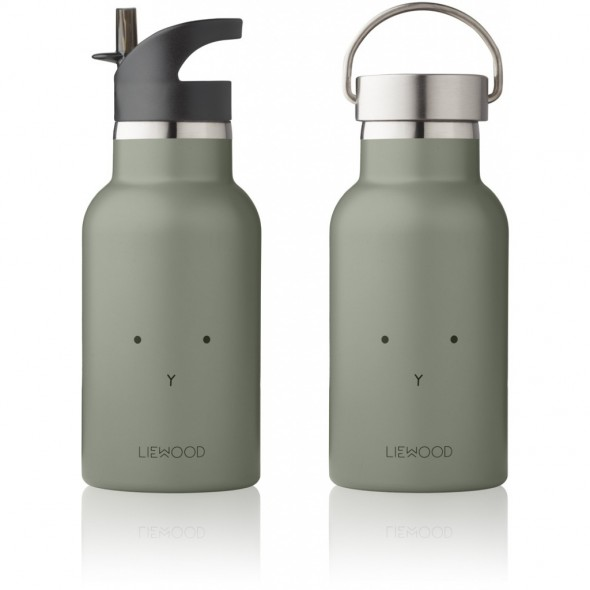 Gourde isotherme Anker - Rabbit (faune green)