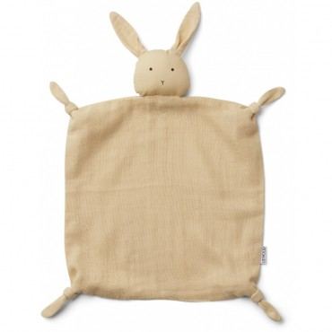 Doudou Agnete - Rabbit (smoothie yellow)