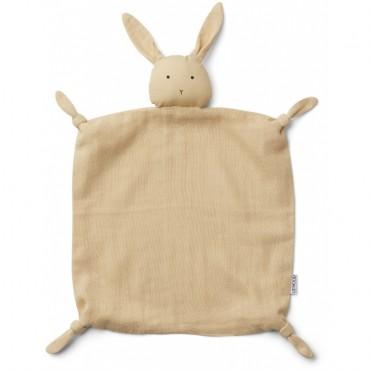 Doudou Agnete - Rabbit (smoothie yellow)