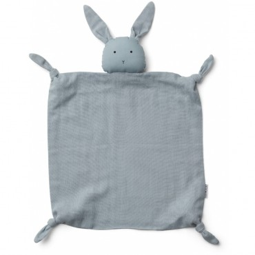 Doudou Agnete - Rabbit (sea blue)