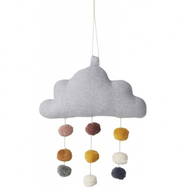 Mobile Nuage Mimi - Grey
