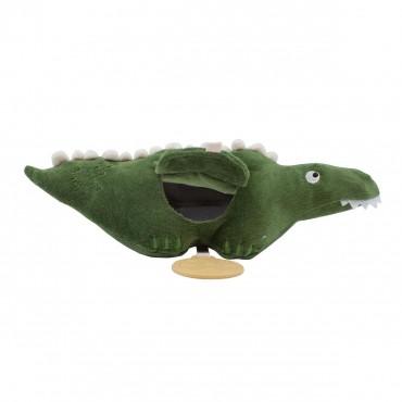 Jouet d'activité en velours - Ali l'aligator