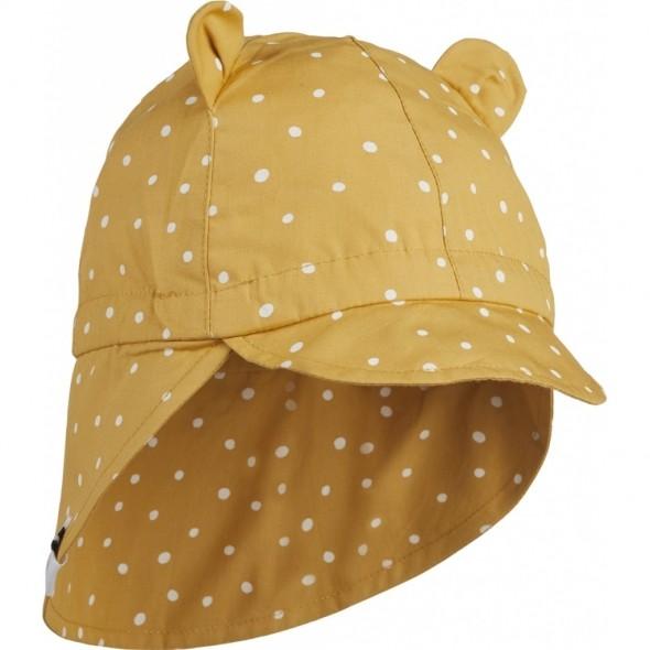 Chapeau de soleil Gorm - Confetti yellow mellow