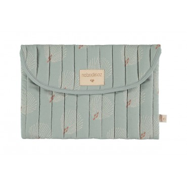 Pochette de rangement Bagatelle - White Gatsby / Antique green