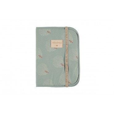 Protège carnet Poema - White Gatsby / Antique green