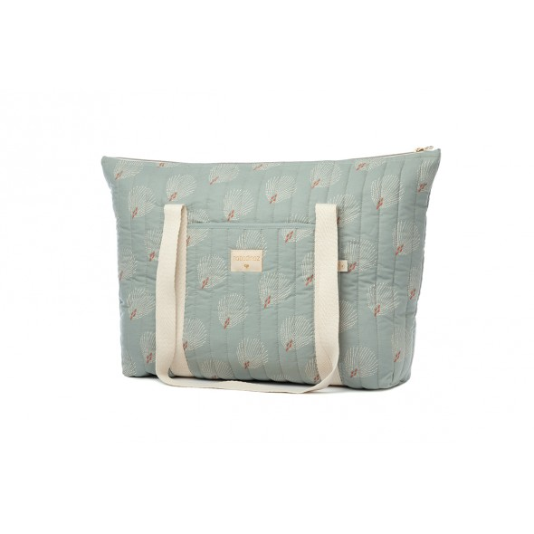 Sac de maternité Paris - White Gatsby / Antique green