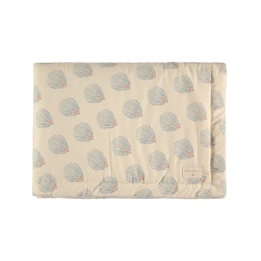 Couverture Laponia - Blue Gatsby / Cream