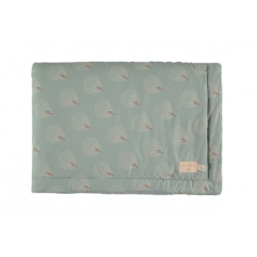 Couverture Laponia - White Gatsby / Antique green