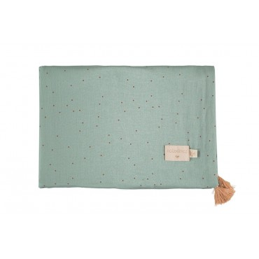 Couverture Été Treasure - Toffee sweet dots / Eden green
