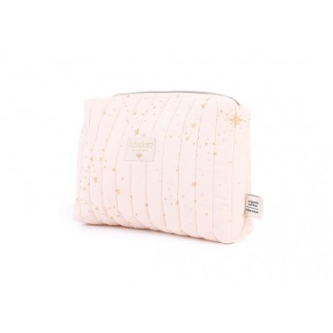 Trousse de toilette Travel - Gold stella / Dream pink