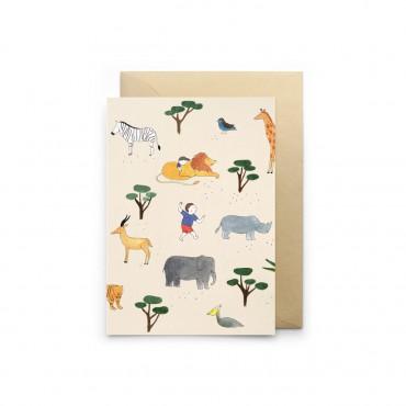 Carte simple - Africa