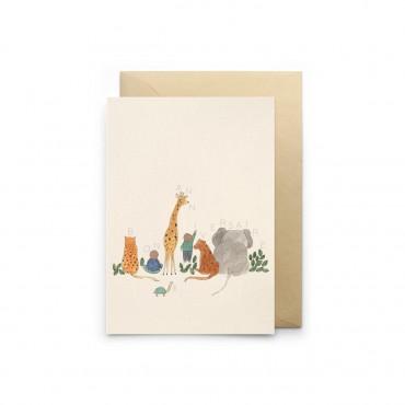 Carte simple - Animalversaire