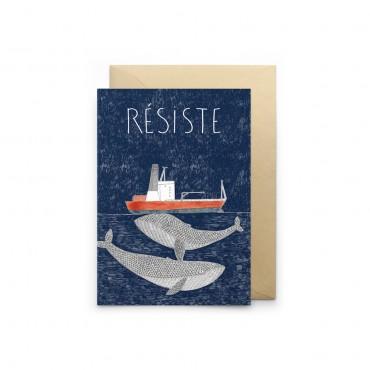 Carte simple - Résiste