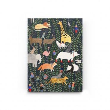Carnet poche - Jungle