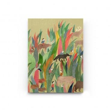 Carnet poche - Les Herbes