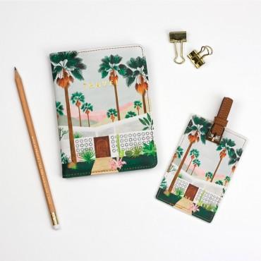 Set de voyage (Passeport + étiquette)  - Palmspring