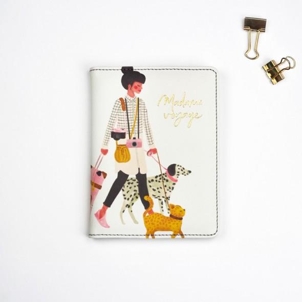 Protège Passeport - Madame Voyage