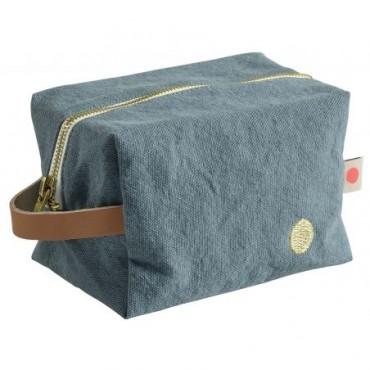 Trousse de toilette cube - Sardine (PM)