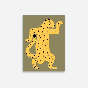 Affiche - Gaspard le guépard (30x40)