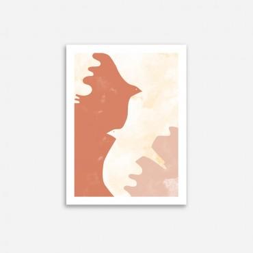 Affiche - OIseau d'Etretat (30x40)