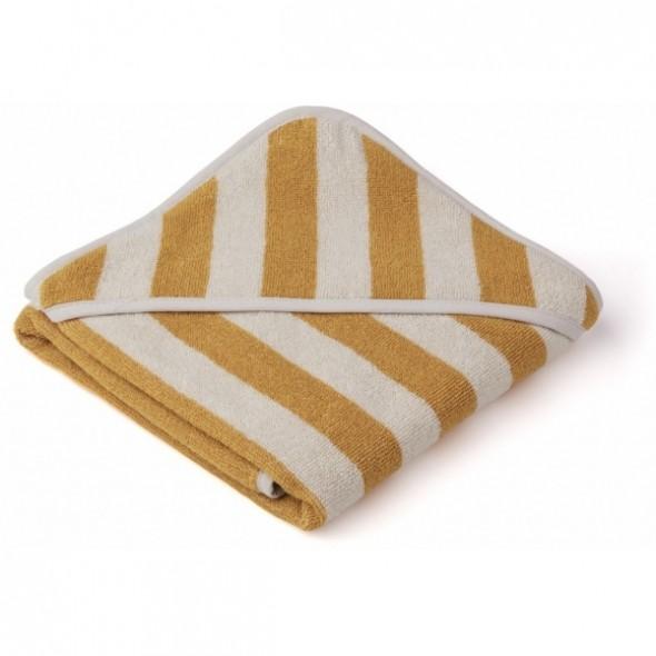 Sortie de bain Alba - Rayures Yellow mellow / Sandy