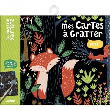 Mes cartes à gratter - Forêt