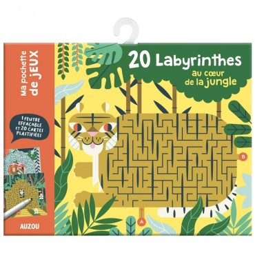 20 labyrinthes au coeur de la jungle
