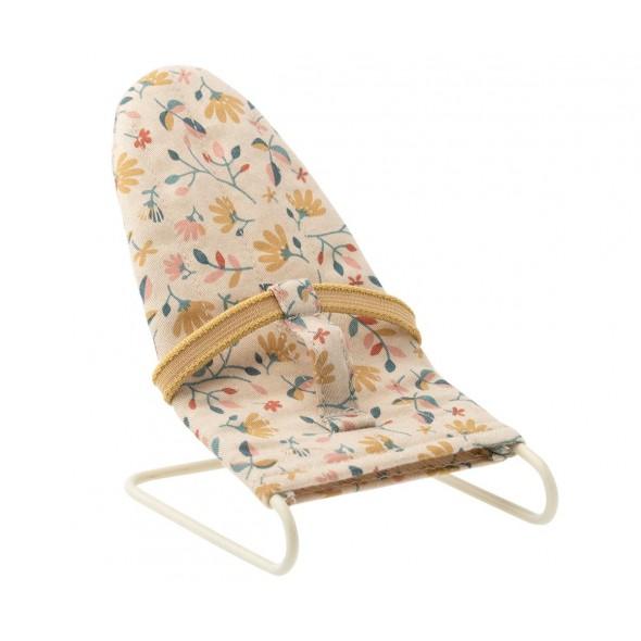 Transat pour bébé souris (Micro) - Fleurs