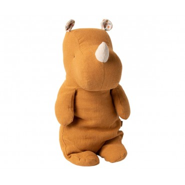 Doudou Rhino - Ocre (Medium)