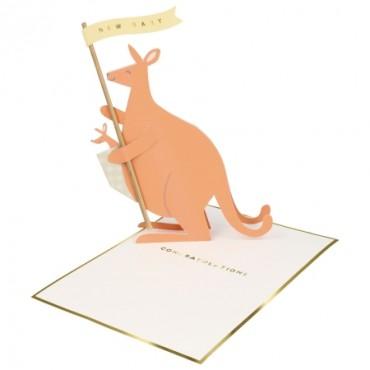 Carte de naissance - Kangourou