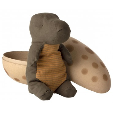Doudou Gantosaure dans un oeuf -  Dusty green (medium)