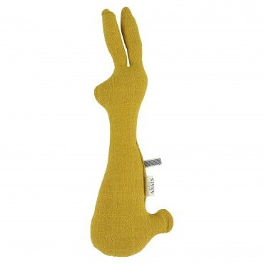 Hochet Lapin - Bliss moutarde