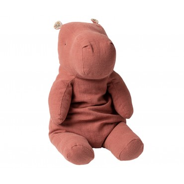 Doudou Rhino - Dusty plum (Large)
