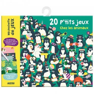 20 p'tits jeux chez les animaux